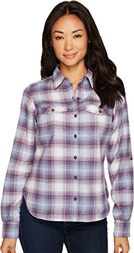Columbia Silver Ridge Long Sleeve Flannel, Dusty Purple Ombr