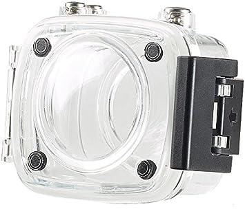 Cámara de acción compacta Somikon para viajar:Carcasa de cámara ...