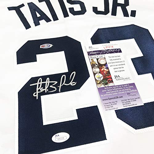 USA Sports Marketing Fernando Tatis Jr. Autographed San Diego Padres 50th Authentic Jersey JSA Auth