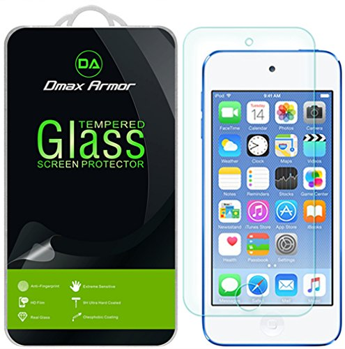 [2-Pack] Dmax Armor for Apple iPod Touch (5th / 6th Generation) [Tempered Glass] Screen Protector with Lifetime Replacement