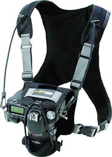Field Logic S4 Gear LockDownX Hands Free Camera Harness Strap for SLR Nikon, Canon, Sony, and More, Black by Field Logic