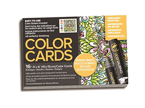Chameleon Art Products, Color Cards, Mirror Images