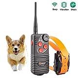 Aetertek At-216D-550s 600yard Remote Dog Training Shock Collar 100% Waterproof & Rechargeable Correcting Bad Behavious Jumping on People ,Barking, Biting Etc