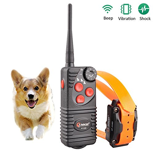 Aetertek At-216D-550s 600yard Remote Dog Training Shock Collar 100% Waterproof & Rechargeable Correcting Bad Behavious Jumping on People ,Barking, Biting Etc Dog Bark Control Reviews