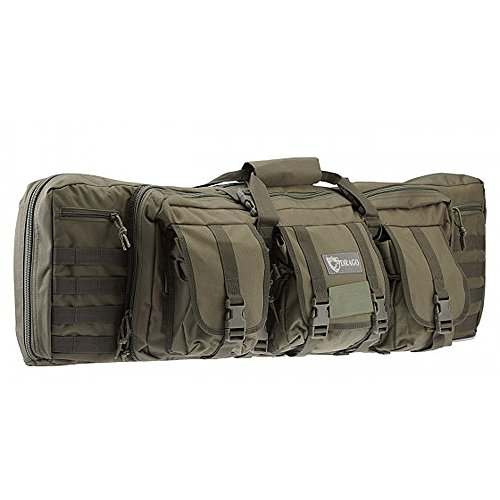 Drago Gear Tactical Double Gun Case Black OPS, DRAGOGEAR Tactical Double Gun Case Green, One Size