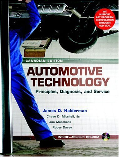 Automotive Technology: Principles, Diagnosis, and Service, Canadian Edition
