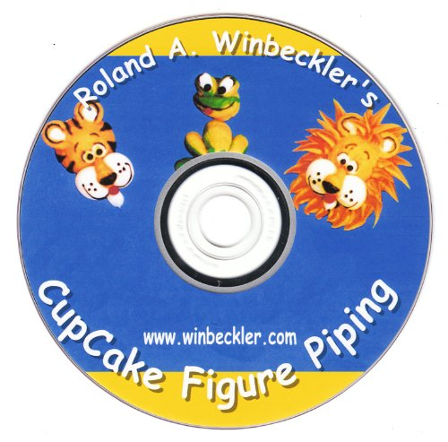 Cupcake Figure Piping--Cake Decorating DVD