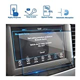#4: 2018 Chrysler Pacifica 7 Inch Center Touch Screen Protector, LFOTPP Tempered Glass In-Dash Clear Screen Protector