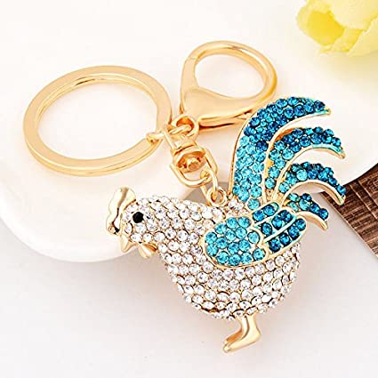 Gallo de gallo Fashion Cute accesorios bolsa de cristal ...