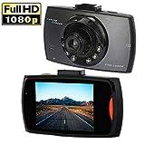 Dash Cam MingAo 2.7'' Full HD 1080P 140 Wide Angle Dash Camera for Cars DVR Vehicle Dashboard Camera Recorder Display G-Sensor Night Vision Loop Recording