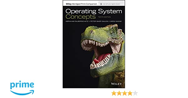 operating system concepts 10th edition epub