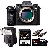 Sony Alpha a9 Full Frame Mirrorless Camera w/ Multi Interface Shoe External Flash