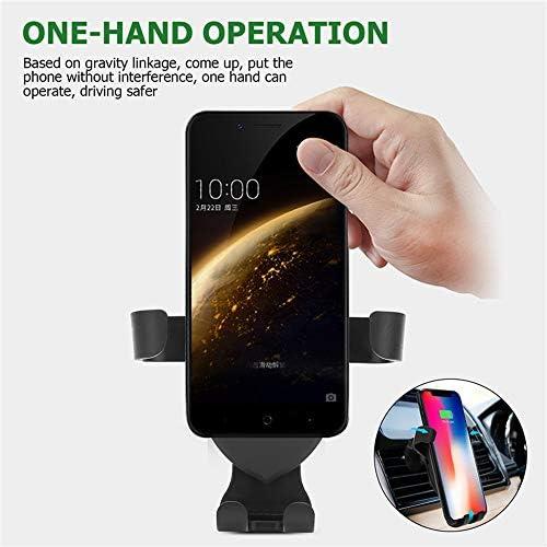 無線車の充電器携帯電話ホルダー、高速カーマウント、互換性のあるiPhone 11/11プロ/ 11プロマックス/のX MAX/XS/XR/X / 8/8 + /サムスンS10 / S10 + / S9 / S9 + / S8 / S8 +充電10Wチー