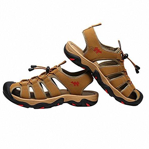 Sandales À De L'été Hommes Mens Marron Sandales Courir Sport Randonnée Pour Bout Des Fermé CwvqFtwp