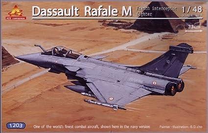 Amazon com: Ace Corporation 1/48 Aircraft Series DASSAULT