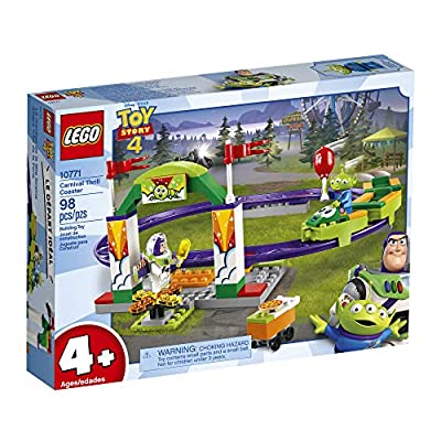 LEGO | Disney Pixar's Toy Story 4 Carnival Thrill Coaster 10771 Building Kit (98 Pieces): Toys & Games