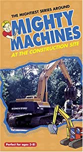 Mighty Machines - At The Construction Site [VHS]