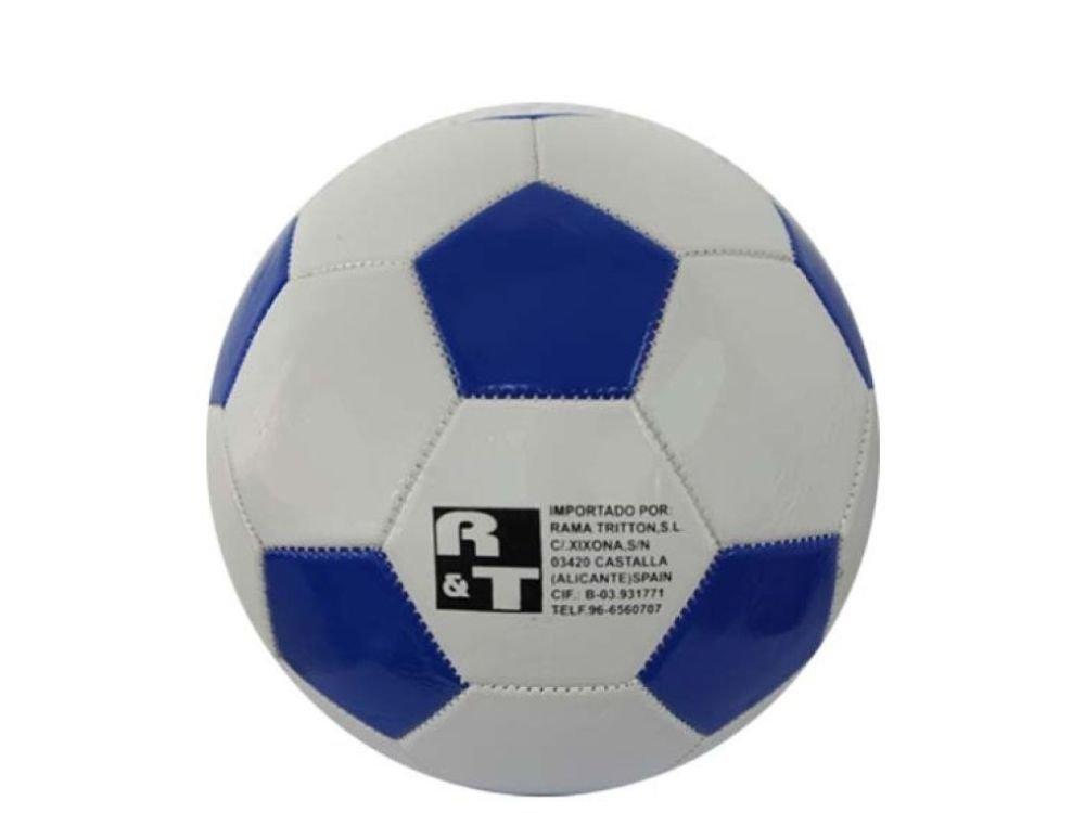 Rama Triton Balon Futbol Azul Y Blanco Diametro 23cm: Amazon.es ...
