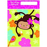 Amscan Monkey Love Folded Loot Bag Party Accessory