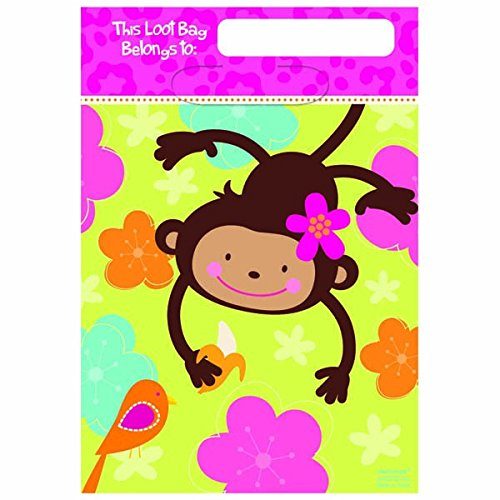Folded Loot Bags | Monkey Love Collection |