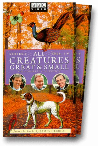 All Creatures Great and Small, Series 2: Volumes 1-6 [VHS]