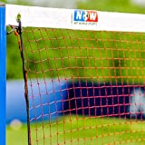 Badminton Net - Regulation 20ft - The Perfect Badminton Net for Amateur & Professional Level [Net World Sports]
