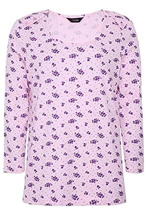 Yoursclothing patrones para coser para mujer patrones de costura para blusas pijama de algodón diseño estampado
