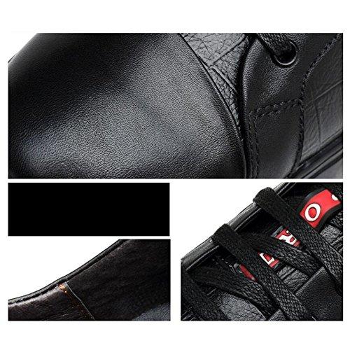 Hommes Casual Chaussures de sport pour hommes authentiques Sneakers Baskets Adultes en cuir unisexe ( Color : White mesh-47 ) Black mesh-43 c7ozyb