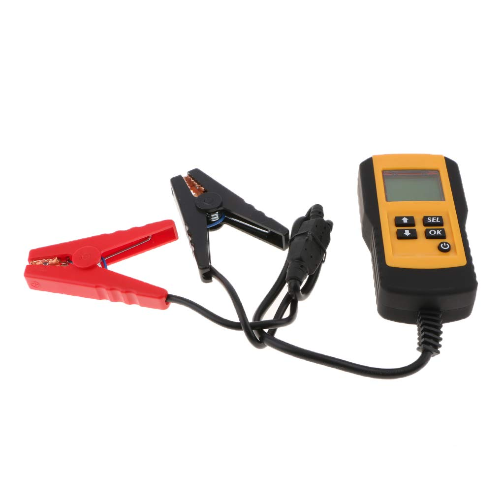 KESOTO 12 V KFZ Auto Batterie Testger/ät Digital Analyzer Batterie Tester Batteriestatus Pr/üfger/ät