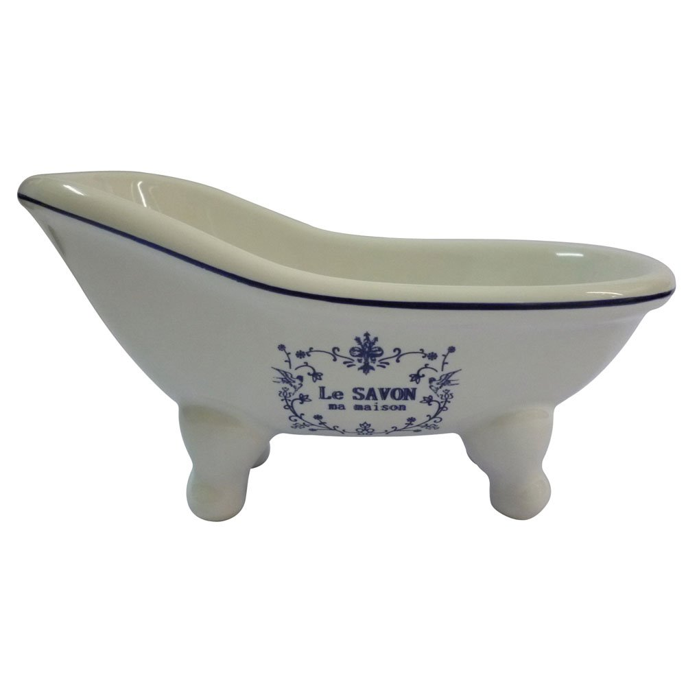 Kingston Brass BATUBSSW Aqua Eden Mini Ceramic Slipper Bathtub, 5-11 ...