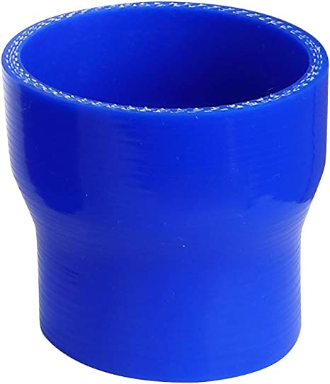 """2/"""" BLUE RACING 3 PLY REINFORCED SILICONE STRAIGHT COUPLER /& CLAMP KIT"""
