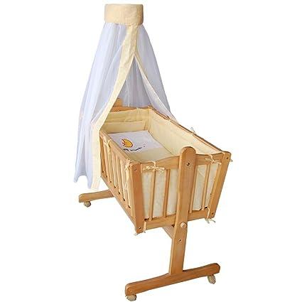 Honey Bee – Completa mecedora, cama, cuna para bebés - amarillo - 51365-