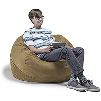 Amazon Com Jaxx 3 Ft Bean Bag Chair With Removable Cover