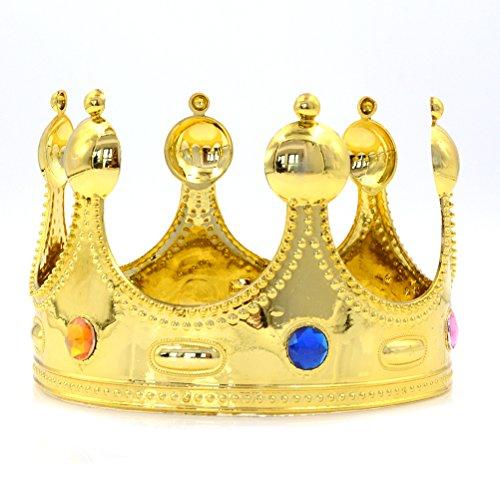 Eshylala Novelty Majestic King, Queens Crown, Novelties Regal King (King Julian Costume)