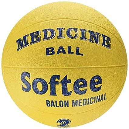 Softee Equipment 0024834 Balón Medicinal, Blanco, S: Amazon.es ...
