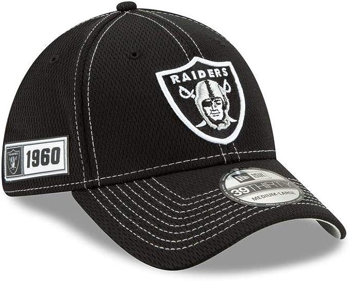 New Era 39Thirty Cap Sideline Graphite Oakland Raiders
