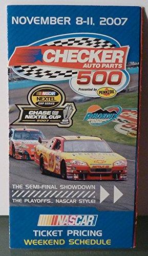 (November 8-11, 2007 - Phoenix International Raceway - Weekend Schedule - NASCAR)