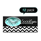 SocialEyes Minx 12 Pack False Eyelashes - Best Reviews Guide