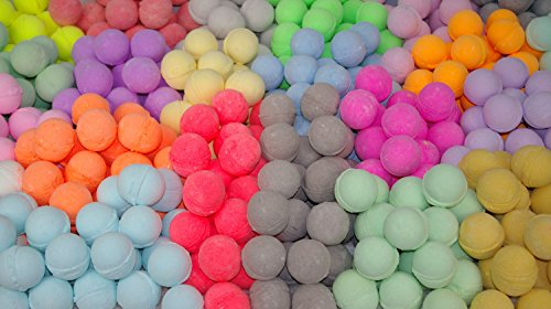 Bath Bombs 50 Pack 3.oz. Hand Made Individually Wrapped Assorted Colors and Scents (Wholesale Bath Bombs)