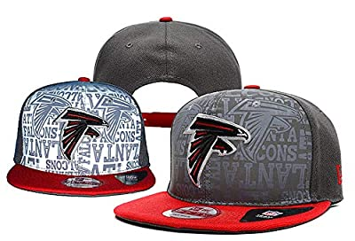 Adult Men's Atlanta Falcons Snapback Cap Adjustable Hat