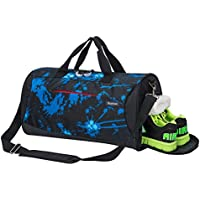 Sports Gym Bag with Shoes Compartment Travel Duffel Bag...
