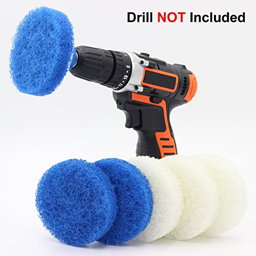 Bathroom Cleaning Tools Amp Kitchen Drill Brush Set Power