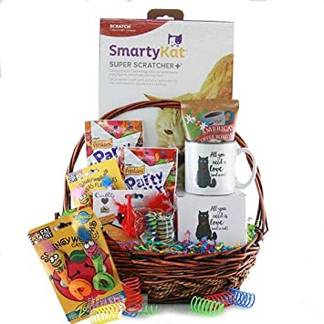 Amazoncom Cat And Mouse Cat Gift Basket Gourmet Candy Gifts