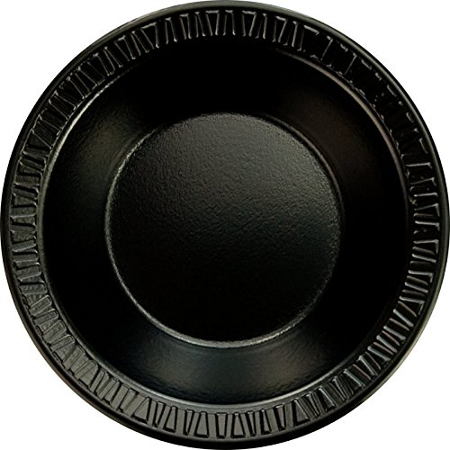 Dart 35BWBQ 3.5-4 oz Black Laminated Foam Bowl (Case of 1000)