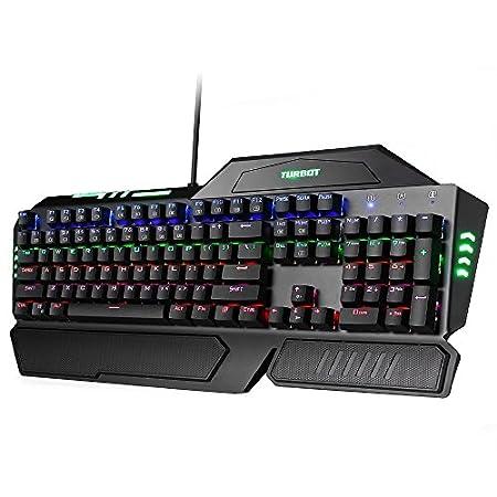 Turbot 104-Key Mechanical Gaming Keyboard