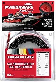 Megaware KeelGuard Black Keel Guard for 17-18-Feet Boat