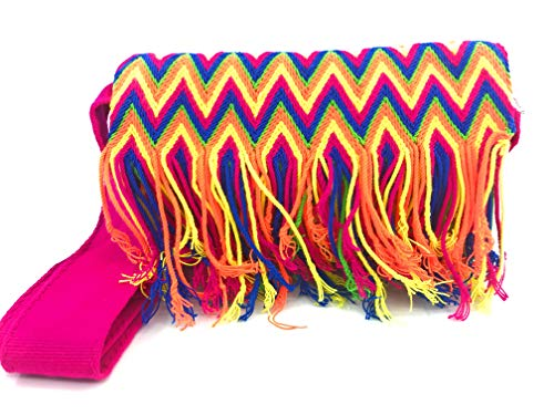 COLOMBIAN STYLE Bolsos Colombianos Artesanales estilo cartera, mochila Wayuu tanto para mujer como para hombre.