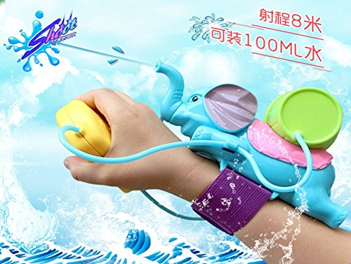 Lovely Elephant Wrist Squirt Gun Toys For Children Baby Tubs Kids Gift Special Summer Outdoor Game Water Plus Backpack Toy Enjoy Childhood - Bans Ray Nice