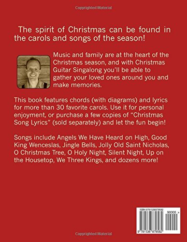 Christmas Guitar Singalong Chords And Lyrics For More Than 30