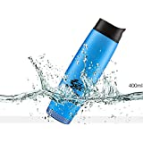 Waterproof Portable Bluetooth Speaker Thermos, Stainless Steel, Vacuum Insulated, Outdoor Speaker Tumbler. Includes FM Radio. Sports Water Bottle, Hot/Cold Cup Mug, 400mL